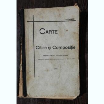 CARTE DE CITIRE SI COMPOSITIE PENTRU CLASA IV SCUNDARA- I.SUCHIANU