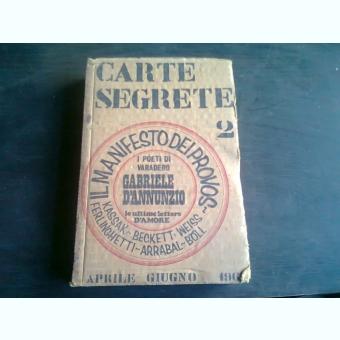 CARTE SEGRETE 2  (CARTE IN LIMBA ITALIANA)