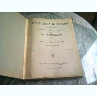 Cavalleria rusticana - Pietro Mascagni, partitura