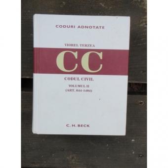 Codul Civil Adnotat Vol 2 (Art. 644 - 1404)