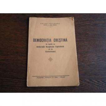 Democratia Crestina , Anton Pecuraru