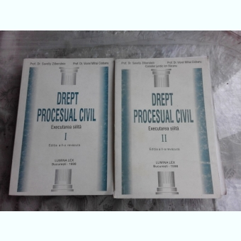 DREPT PROCESUAL CIVIL EXECUTAREA SILITA - SAVELLY ZIBERSTEIN   2 VOLUME