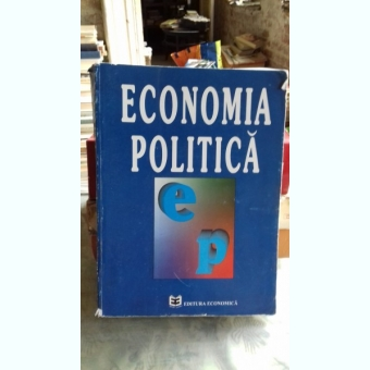 ECONOMIA POLITICA - NITA DOBROTA