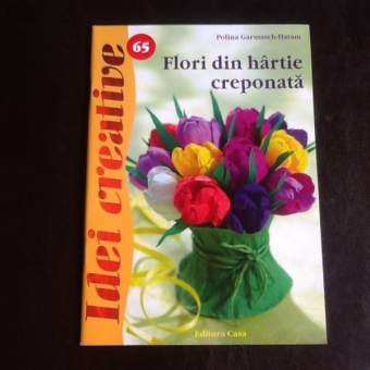 Flori din hartie creponata