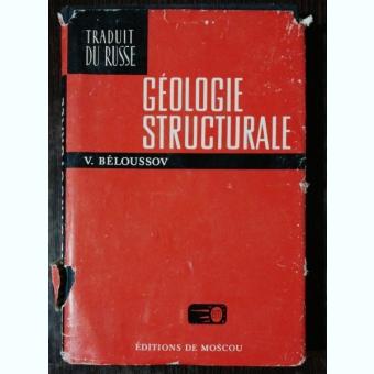 GEOLOGIE STRUCTURALE - V.BELOUSSOV