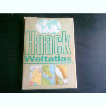 HAACK WELTATLAS von M . HOFFMANN ..W. THIELE