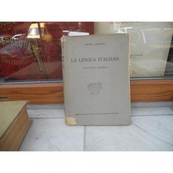 LA LINGUA ITALIANA , ENZO LORETI