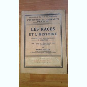 LES RACES ET L'HISTOIRE-EUGENE PITTARD