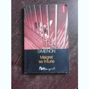MAIGRET SE INFURIE - GEORGES SIMENON