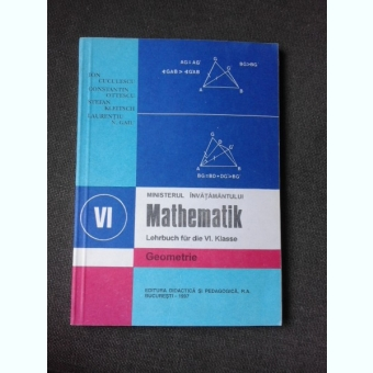 MATHEMATIK/MATEMATICA, MANUAL IN LIMBA GERMANA CLASA VI-A, GEOMETRIE