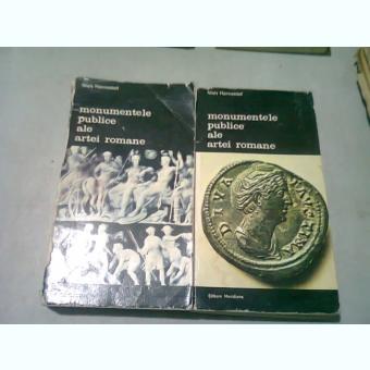 MONUMENTELE PUBLICE ALE ARTEI ROMANE- NIELS HANNESTAD -BUC.1989 VOL.I-II