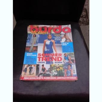 REVISTA BURDA NR.4/1998, TEXT IN LIMBA GERMANA