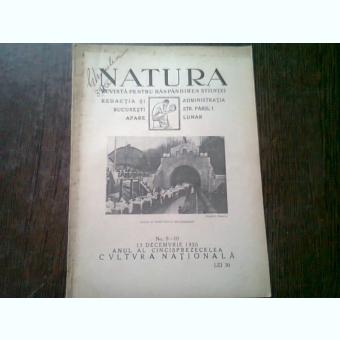 REVISTA NATURA NR.9-10/1926