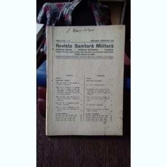 REVISTA SANITARA MILITARA NR.1-2/1949