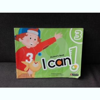 STUDENT'S BOOK, I CAN! NIVEL 3 - ELIZABETH DOMONEY  (CARTE PENTRU COPII)