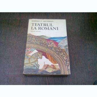 TEATRUL LA ROMANI , Dimitrie C. Ollanescu , 1981