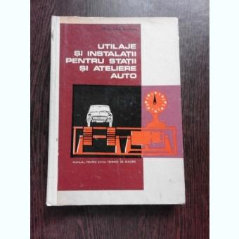 UTILAJE SI INSTALATII PENTRU STATII SI ATELIERE AUTO - A. GROZA